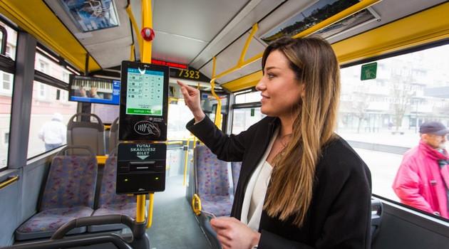 В Гданьских автобусах можно будет платить за проезд картой или телефоном