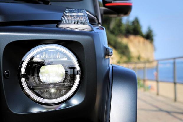 Po czym poznać nową Klasę G? Przede wszystkich po nowych reflektorach w technologii LED.
