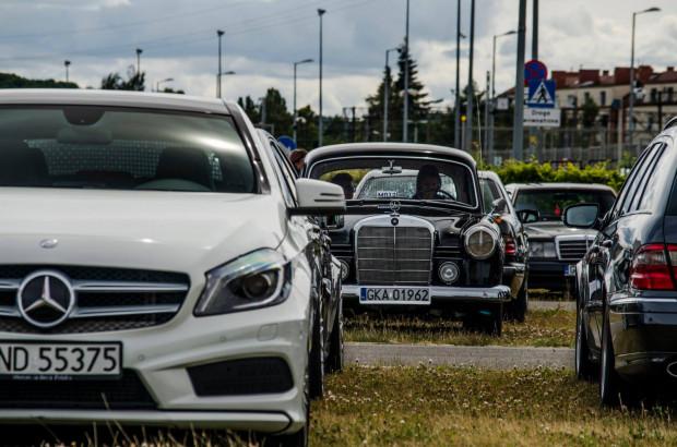 W zlocie wezmą udział zarówno klasyczne, jak i współczesne modele Mercedesa.