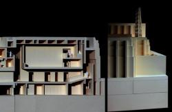 Wizualizacja przedstawiająca przyszły Teatr Szekspirowski.