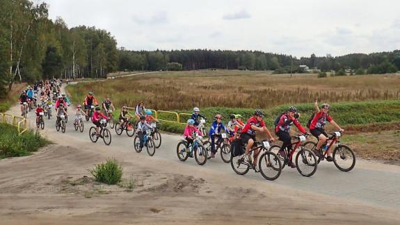 W 2. edycji Rodzinnego Rajdu Rowerowego Kociewie Kółeczkiem wzięło udział prawie 120 uczestników