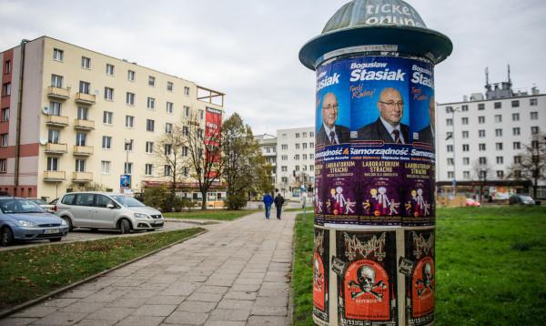 W zamian za ograniczenia w Gdyni będzie więcej słupów i tablic, na których będą mogli prezentować się kandydaci.