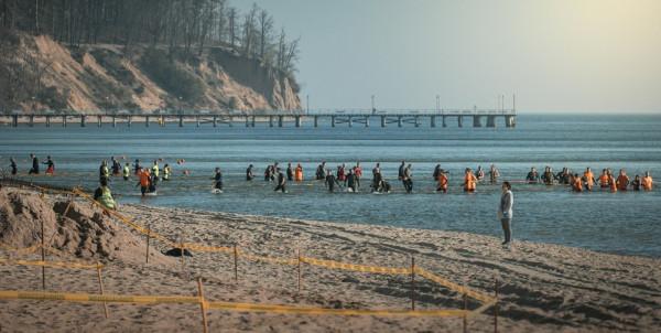 W takiej scenerii rywalizowali uczestnicy ostatniego Runmageddonu w Trójmieście, który odbył się w kwietniu w Gdyni.