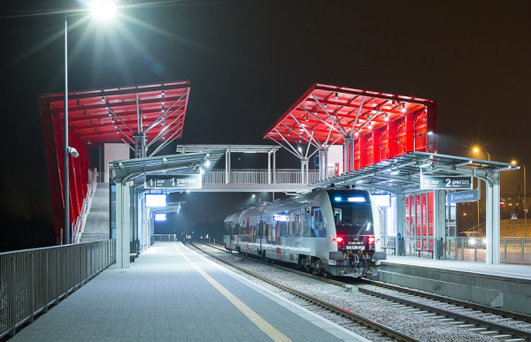 Nowy rozkład jazdy linii 268 został dopasowany do pociągów PKM na przystanku Gdańsk Kiełpinek.