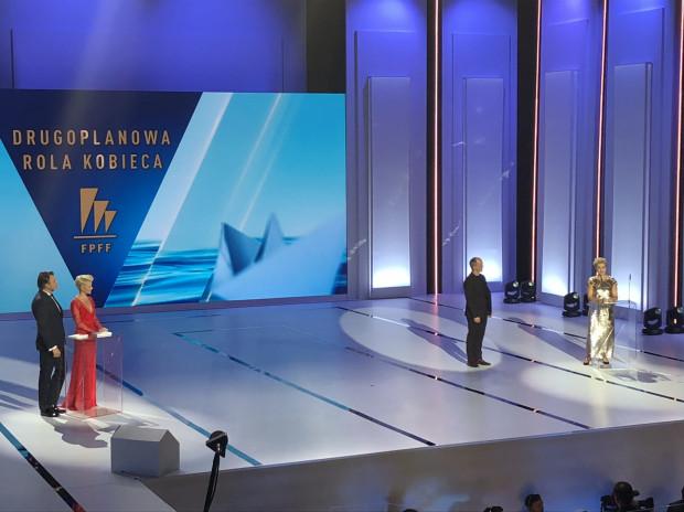 Nagroda za drugoplanową rolę żeńską dla Aleksandry Koniecznej.