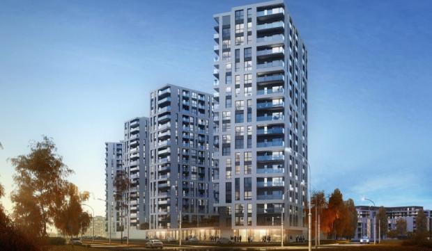 Budimex Nieruchomości chciałby zbudować przy ul. Hynka trzy wysokie budynki.