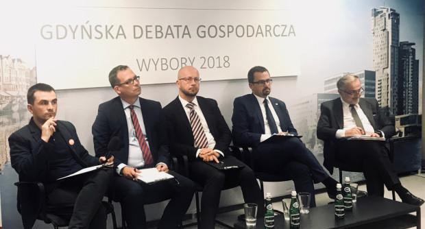 Gdyńska debata gospodarcza odbyła się w czwartek.