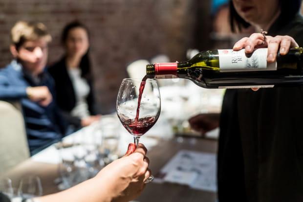 Na degustację w restauracji Grand Cru wybrano wina z Nowego Świata, a dokładnie sześć rodzajów australijskich produkcji.