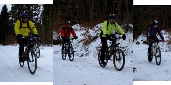 Niektóre szlaki rowerowe przejezdne są nawet zimą