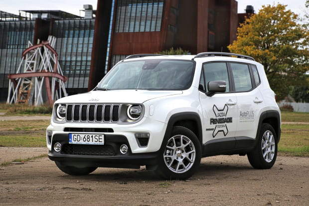 Jeep Renegade po faceliftingu.