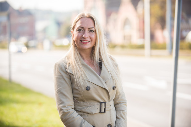 Dorota Maksymowicz-Czapkowska walczy o urząd prezydenta Gdańska z ramienia komitetu Narodowy Front Polski.