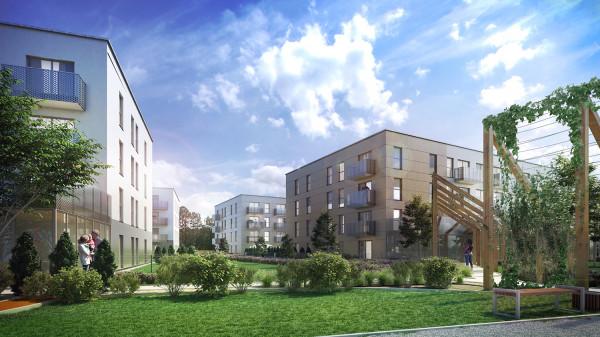Obecnie w sprzedaży są mieszkania z pierwszego budynku osiedla Zielona Laguna Wzgórze.