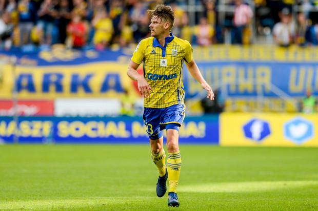 Luka Marić był dotychczas niezastąpiony w defensywie Arki. W meczu z Zagłębiem nabawił się jednak kontuzji.