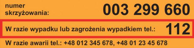 Kilkanaście tysięcy przejazdów kolejowych w Polsce doposażono w takie żółte naklejki. Jest duża szansa, że dzięki nim tragedii na przejazdach będzie mniej.