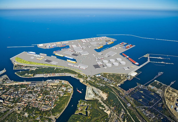 Port Centralny w Gdańsku.