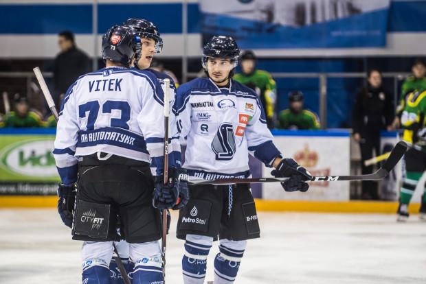 Mimo starań, Josef Vitek (z lewej) czy Jego Rożkow (z prawej) nie byli w stanie utrzymać MH Automatyki w czołówce tabeli PHL. Czy to zmieni się po przerwie reprezentacyjnej?
