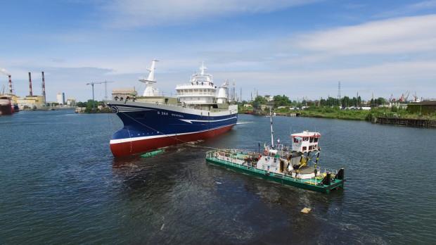 Budowa statków do połowu ryb stanowi jedną ze specjalności Zakładu Nowych Budów Stoczni Remontowej Nauta. Oprócz statków rybackich w portfolio Nauty są także jednostki naukowo-badawcze i statki obsługowe dla sektora offshore.