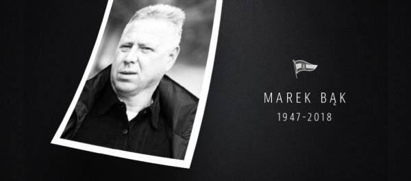 Marek Bąk z Lechią Gdańsk najpierw w roli kierownika pierwszej drużyny, a potem dyrektora klubu był związany od 1987 do 2003 roku.