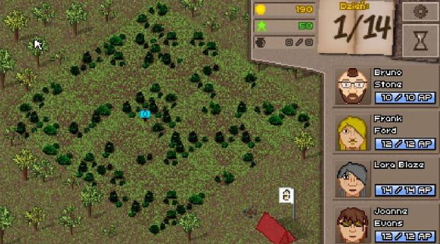 Mapa gry jest odzwierciedleniem prawdziwych wykopalisk z lat 2014-2015 z cmentarza historycznego w miejscowości Nowe Monasterzysko.