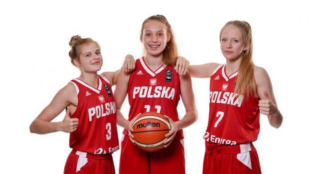 Magdalena Szymkiewicz (nr 7) w młodzieżowej kadrze Polski.