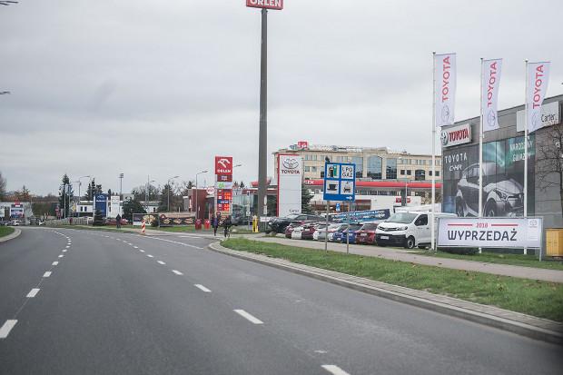 Motoryzacyjne centrum Trójmiasta - al. Grunwaldzka.