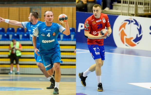 Gdynianie pod szyldem Spójni nie wygrali jeszcze z Wybrzeżem. Czy jako Arka Paweł Ćwikliński (z lewej) i jego koledzy doczekają się triumfu nad ekipą Adriana Kondratiuka (z prawej)?