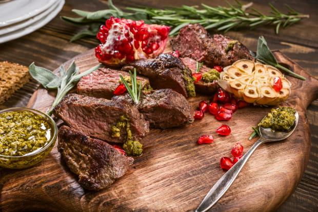 Stek z mięsa z kangura