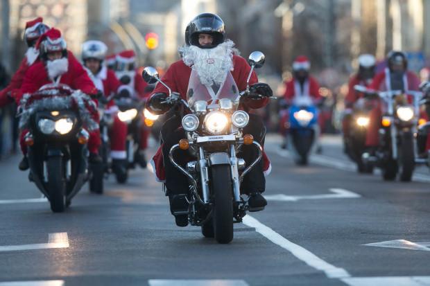 Przez Trójmiasto ponownie przejadą Mikołaje na motocyklach.