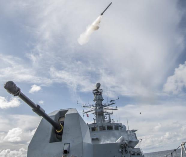 Po raz pierwszy będzie można zobaczyć okrętowy system obrony powietrznej Sea Ceptor.