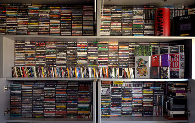 W tym momencie kolekcja kaset sięga już 2,2 tys. egzemplarzy.