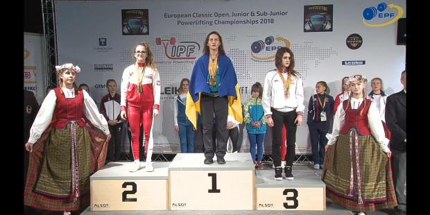 Paulina Szymanel na drugim stopniu podium mistrzostw Europy.