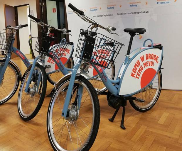 Tak będą wyglądać rowery Mevo, które wkrótce pojawią się w Trójmieście i na Pomorzu.
