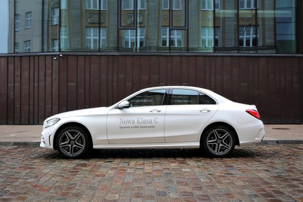 Mercedes-Benz Klasy C po modernizacji.