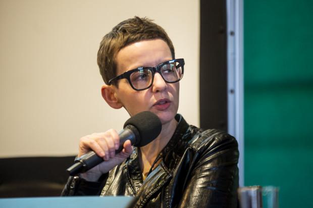 Spotkanie z Magdaleną Grzebałkowską.
