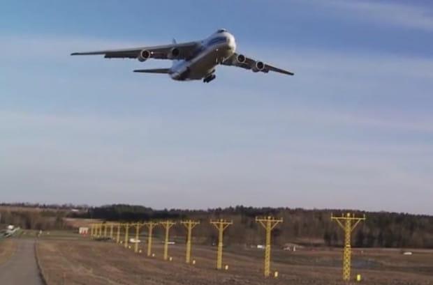 Antonow 124 jest stałym gościem lotniska w Gdańsku. W tym roku był tu już kilkukrotnie.