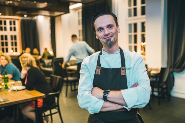 Paweł Wątor, szef kuchni i współwłaściciel restauracji Eliksir
