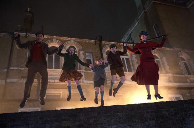 """Świąteczny seans proponują też kina w Trójmieście. Jedną z nowości propozycja w sam raz dla całej rodziny, czyli """"Mary Poppins powraca""""."""