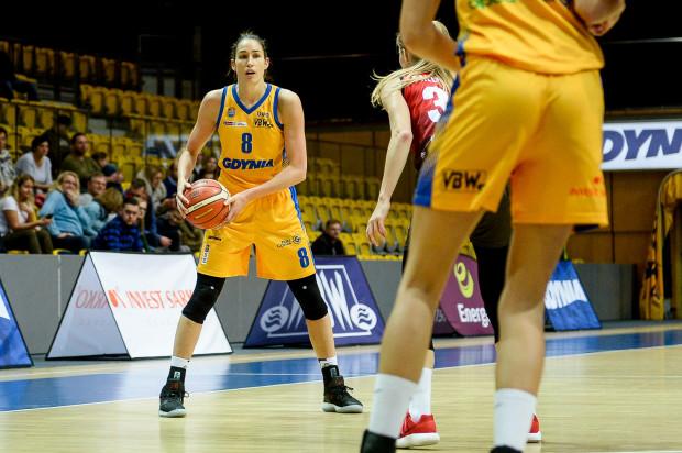 Rebecca Allen liderowała Arce podczas meczu w Lublinie.