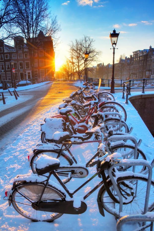 Zima nie jest przeciwwskazaniem do codziennej jazdy na rowerze.