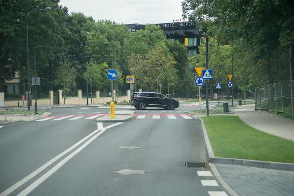 Ulica Haffnera w Sopocie po przebudowie.