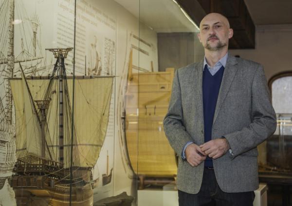 Dr Robert Domżał został nowym dyrektorem Narodowego Muzeum Morskiego.