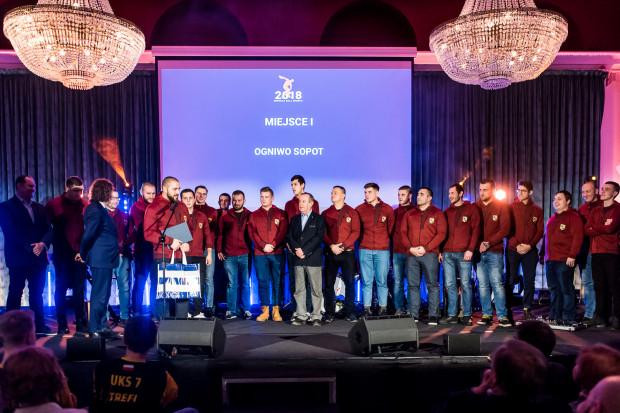 Najlepsza drużyna roku - Ogniwo Sopot.