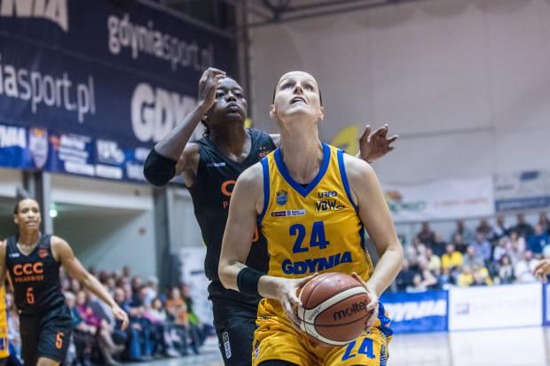 Anna Jurcenkova ma za sobą jeden z najlepszych występów w EBLK. Rzuciła Widzewowi 24 punkty.