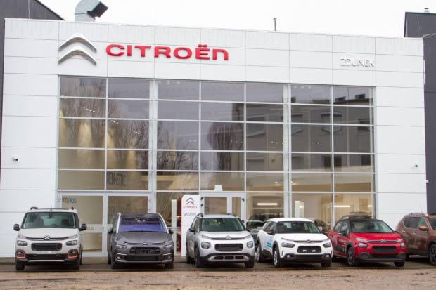 Salon Citroen Zdunek mieści się przy al. Grunwaldzkiej 295.