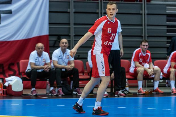Adrian Kondratiuk to jeden z czterech szczypiornistów Energi Wybrzeża powołanych obecnie do pierwszej reprezentacji Polski.