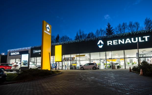 Odświeżone stacje Renault i Dacii, które należą do Grupy Zdunek.