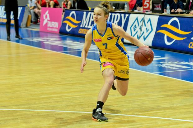 Monika Naczk dołączyła do składu Politechniki. Wcześniej koszykarka grała już w gdyńskich (na zdjęciu) i w gdańskich barwach.