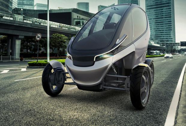 Triggo - pojazd zwinny jak motocykl.