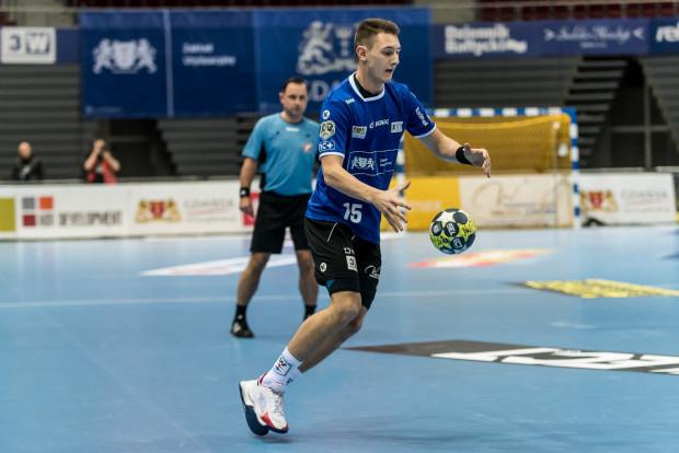 Krzysztof Komarzewski rzucił pięć bramek dla reprezentacji Polski w meczu przeciwko Szwajcarom.