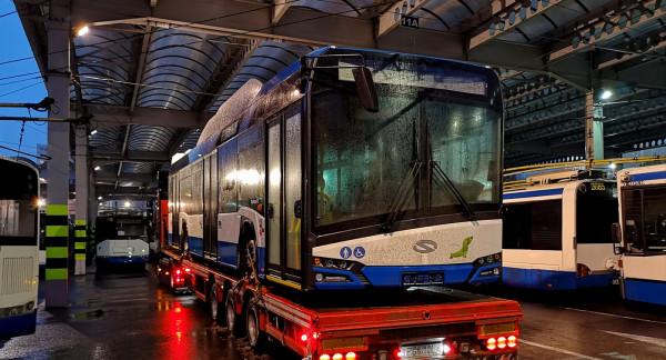Są opóźnienia w dostarczaniu nowych pojazdów do Gdyni. Nie wiadomo na razie, czy zgodnie z planem wszystkie trolejbusy dotrą do Gdyni do marca.